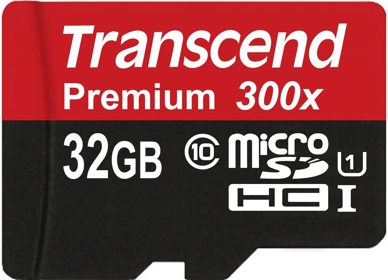 Carte micro microSDHC Transcend 32 Go Classe 10
