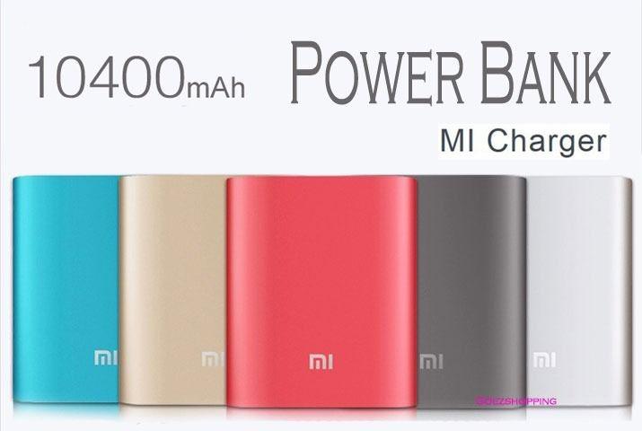 Batterie portable : Xiaomi PowerBank 10400mAh (NDY-02-AD)