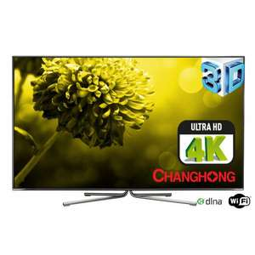 """Télévision 55"""" Changhong UHD55B6000IS - 4K UHD - 3D DLNA"""