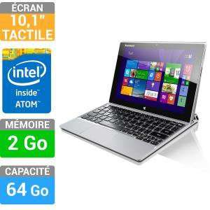 "PC Convertible Tablette 10.1"" Lenovo Miix 2 (Avec ODR de 100€)"