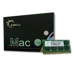 Barette de Ram G.Skill for Mac 4 Go DDR3 1600 MHz CL11
