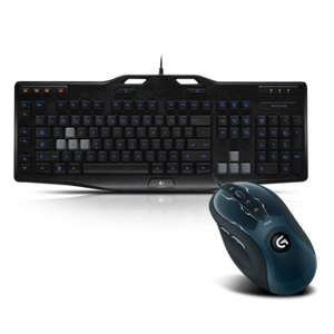 Pack Logitech : clavier G105 Gaming Keyboard + Souris G400s