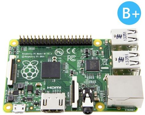 Nouveau Raspberry Pi Modèle B+