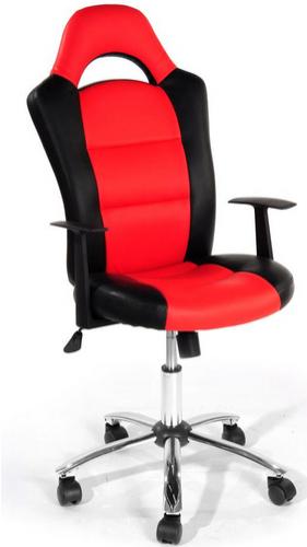 Fauteuil de bureau SPID - Noir et Rouge
