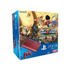 Console Xbox 360 E 4Go ou Console Sony PS3 12Go Rouge Invinzimals + 1 jeu offert