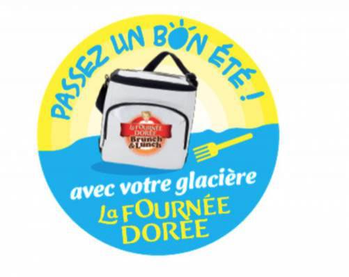 """Glacière  isotherme à 1€ pour l'achat d'une sélection de produits """"La Fournée Dorée"""""""