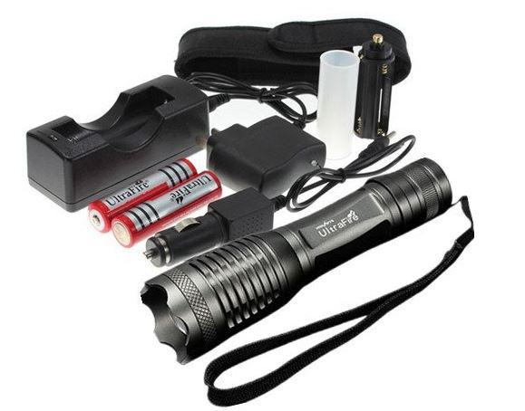 Lampe torche UltraFire 1800LM CREE XM-L T6 LED 12W