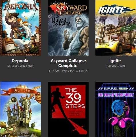 Scorched Bundle : 14 jeux sur PC (Dématérialisé - Steam)