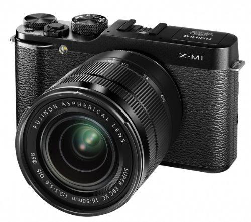 Appareil photo Fujifilm X-M1 + Objectif XC 16-50mm f/3.5-5.6 OIS - Noir, Argent ou Marron