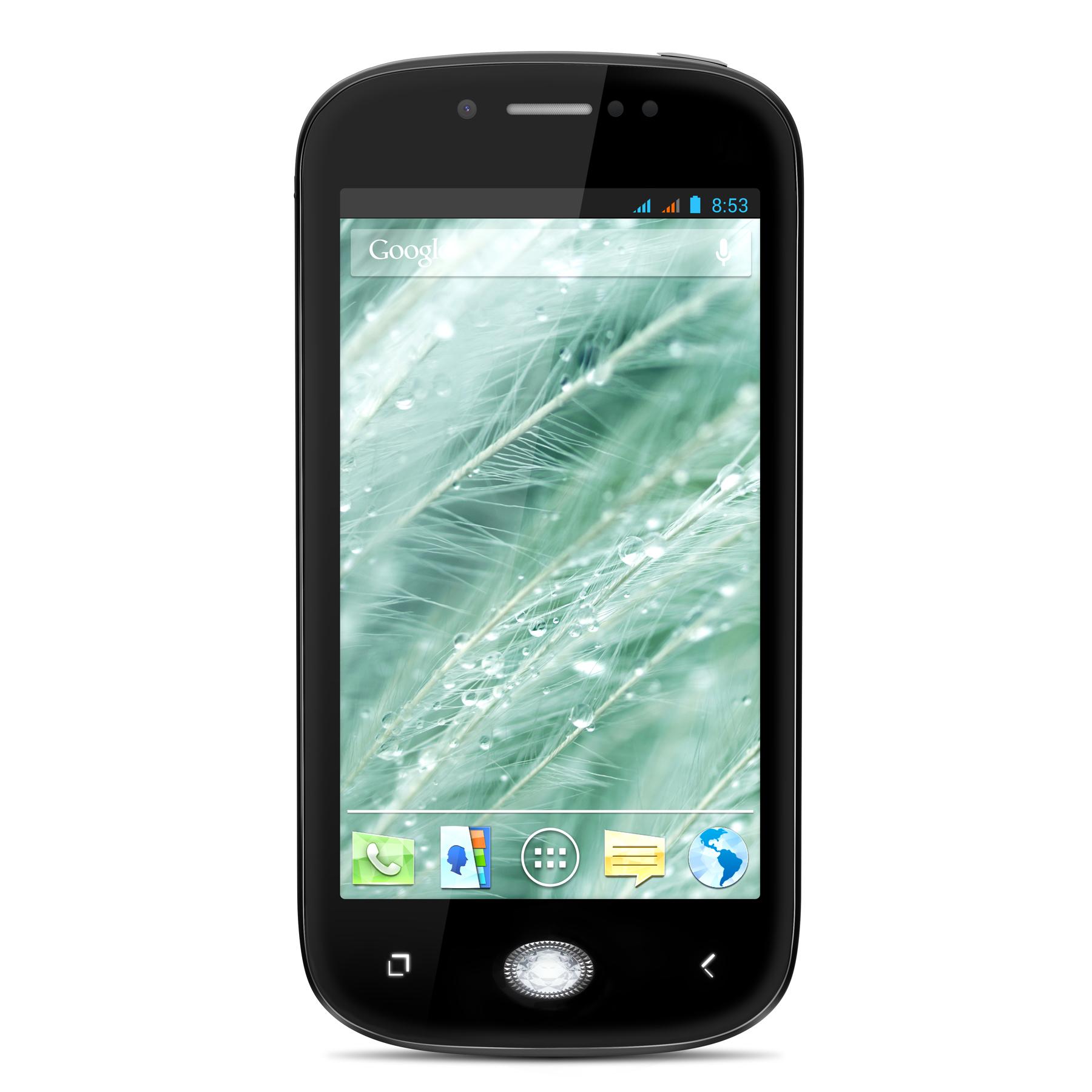 "Smartphone 4"" Wiko Sublim Noir (avec bouton Swarovski)"
