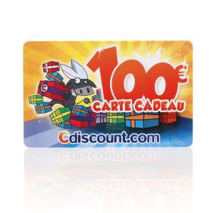 Cartes cadeau Cdiscount d'une valeur de 100€