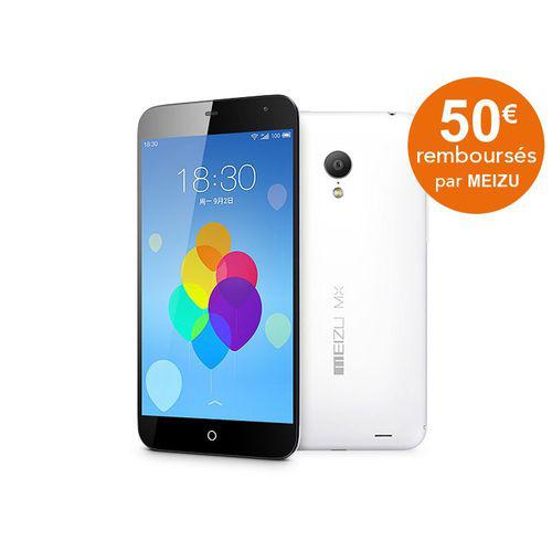 Smartphone Meizu - MX3 32Go Noir et Blanc (50€ ODR)