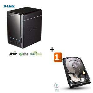 Bundle NAS D-Link DNS-320 + Disque dur Seagate 1To