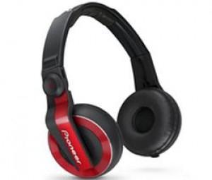 Casque DJ PIONEER HDJ-500 couleur rouge