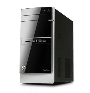 Unité Centrale HP Pavilion 500-211nf Noir (Intel Core i3 4130, 6 Go de RAM, 2 To, AMD Radeon R5 235, Windows 8.1)