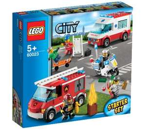 LEGO City - Starter Set - Ensemble de véhicules - 60023