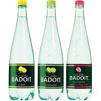 Lot de 2 bouteilles de Badoit aromatisée