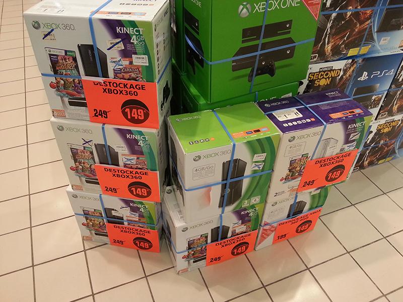 Sélection de consoles Xbox 360