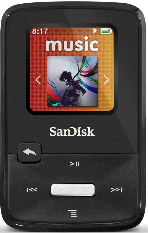 """Sandisk Sansa Clip Zip Lecteur mp3 - ecran 1,1"""" 8Go Noir"""