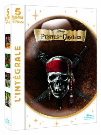 Coffret Blu-Ray Intégrale Pirates des Caraïbes - 5 films