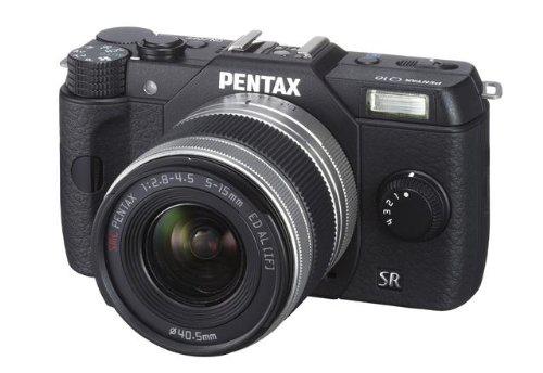 Pentax Q10 Kit compact hybride 12,4 Mpix Noir + Objectif 5-15 mm f/2.8-4.5