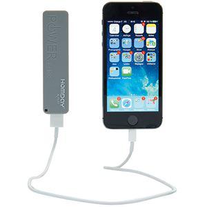 Chargeur nomade de téléphone USB Homday 1800 mAh