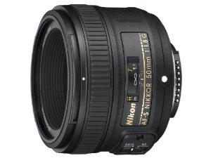 Objectif Nikon Nikkor AFS 50 mm f/1.8G