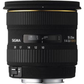 Objectif optique Photo Sigma 10-20mm F4-5.6 DC EX pour Canon