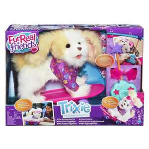Peluche Hasbro FurReal Friends Mon Chien Skateboard