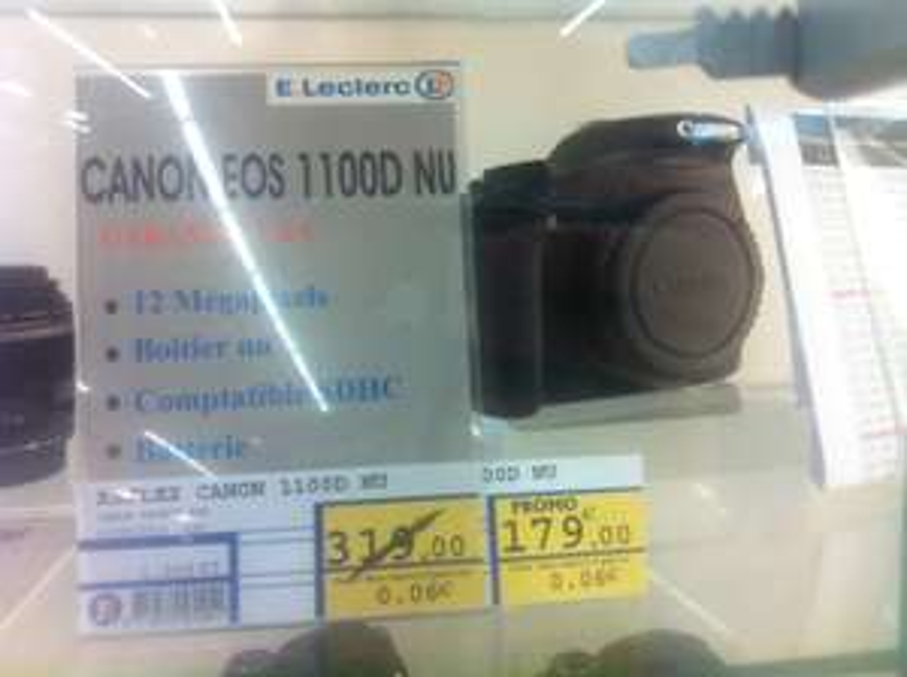 Appareil photo Canon 1100D Nu