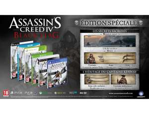 Assassin's Creed 4 : Black Flag Edition Day One PS3 / Xbox360