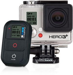 Caméra GoPro Hero 3+ Black (& silver) dispo