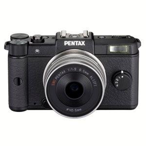Appareil photo hybride Pentax Q + objectif 8,5mm
