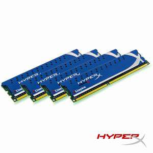 Kingston HyperX 16 Go (4 x 4 Go) DDR3 1600 MHz PC3-12800 CL9 (KHX1600C9D3K4/16GX)