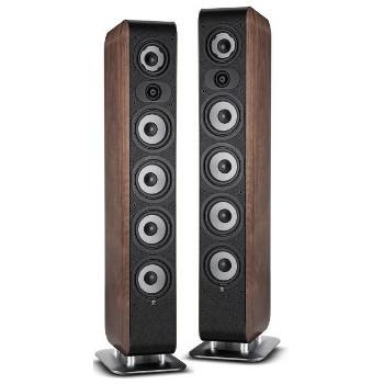 Paire d'enceintes colonnes Boston Acoustics Enceinte M séries M350 Walnut
