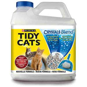 Litière Tidy Cats crystals blend Purina gratuit ou