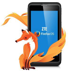 Smartphone ZTE Open C sous Firefox OS 1.3