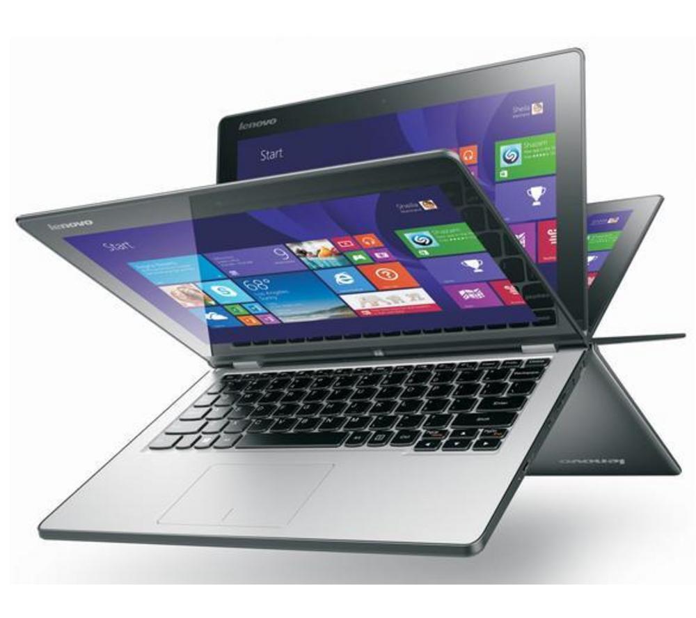 """Ordinateur portable tactile 11"""" Lenovo Yoga 2 11 - Noir"""