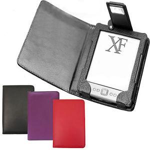 """House éclairée pour Kindle 6"""" - Rouge, noir ou violet"""