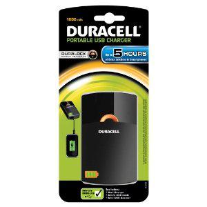 Batterie Duracell USB portable & chargeur secteur (2 en 1) [Panier Plus]