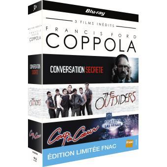 Coffret 3 Bluray Francis Ford Coppola - Edition Limitée Fnac
