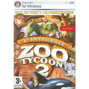 Zoo Tycoon 2 Intégrale (4 packs d'extension) sur PC