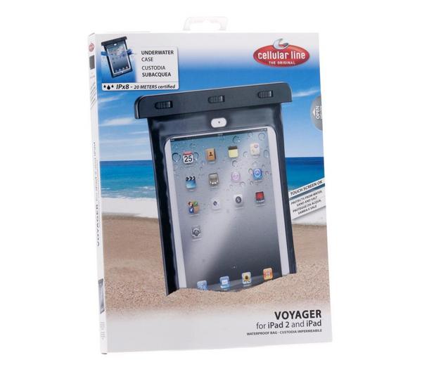 Housse étanche IPX8 Cellular Line Voyager pour iPad