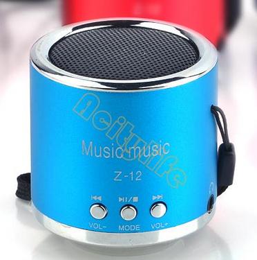 Mini enceinte portable sans fil Radio FM, MP3, USB, MicroSD (plusieurs couleurs disponibles)