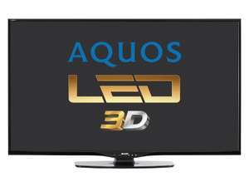 """Televiseur 60"""" LED Sharp LC-60LE651E 3D"""