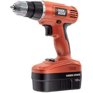 Perceuse Black & Decker PC18CA 18V / Nicd