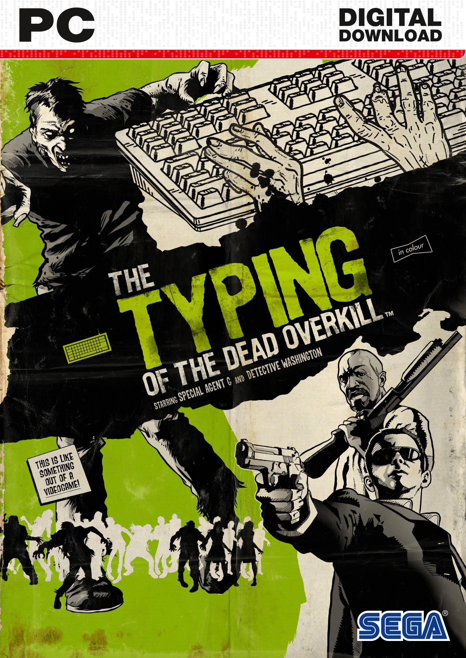 Typing of the Dead: Overkill sur PC (Dématérialisé - Steam)