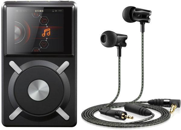 Baladeur audiophile Fiio X5 + Ecouteur Sennheiser IE800