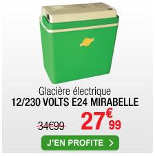 Glacière électrique Ezetil E24 Mirabelle - 12/230V, 22 L