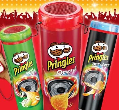 Enceinte Disco Pringles offerte (Codes inclus) / Frais de port : 3€
